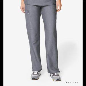 Figs Kade Cargo Pant Scrubs Gray XXS